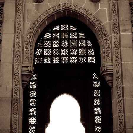 Interior of building in Mumbai India Stock Photo