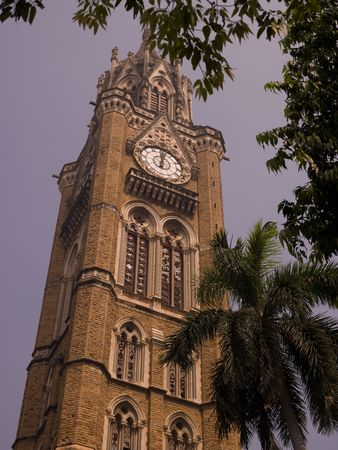 Bell tower of building in Mumbai