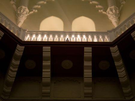 Interior of building in Mumbai India 版權商用圖片