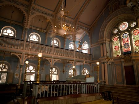 synagogues: Interior of synagogue in Mumbai
