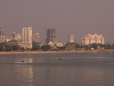 Skyline in Mumbai