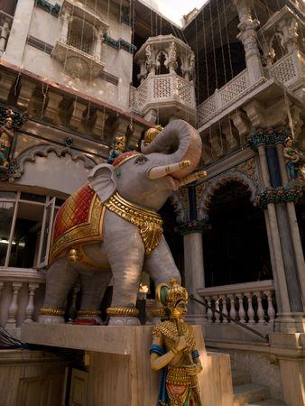 Statue of elephant in Mumbai