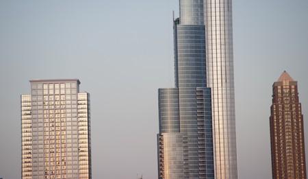 levit: Chicago Skyline Stock Photo