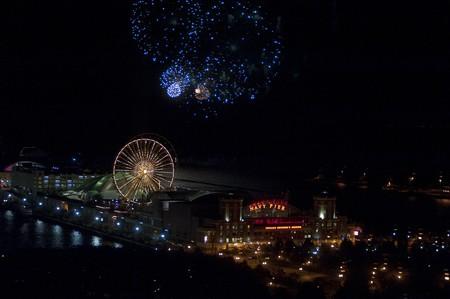 Chicago, Navy Pier, Fireworks