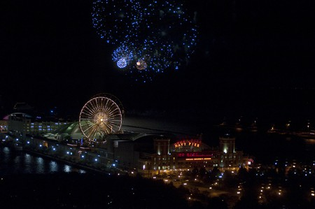 Chicago, Navy Pier, Fireworks photo