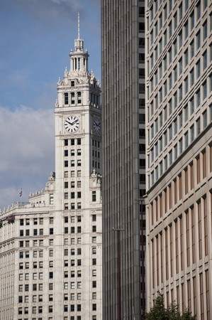 Chicago, Wrigley Building 版權商用圖片