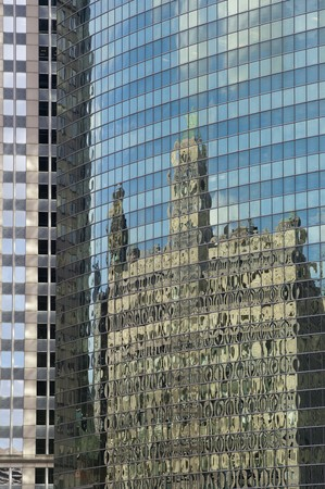 distort: Reflection in Chicago Windows