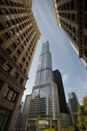 highrises: Chicago, Trump Tower