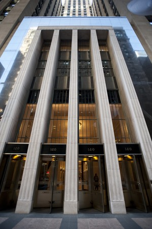 Chicago, Bank of American Building Stock Photo
