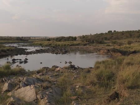levit: Pond in Kenya Africa