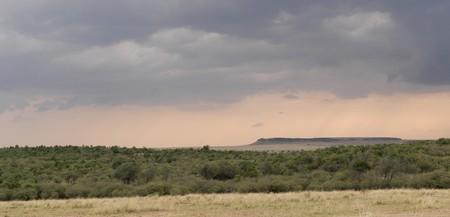maasai mara: Maasai Mara landscape in Kenya Africa