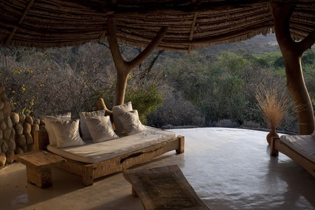 blockh�tte: Luxus-Lodge in Kenia