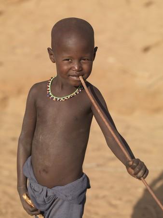 samburu: Samburu child in Kenya Africa