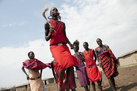 Kenya Maasai tribe