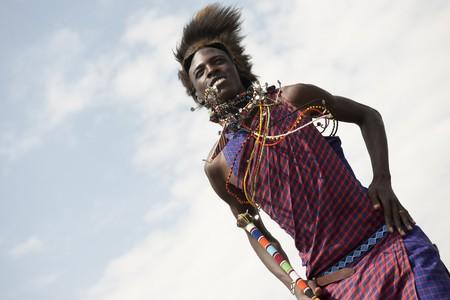 Tribu Masai de Kenia  Foto de archivo - 7206226