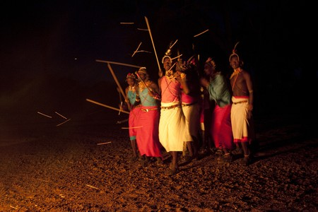 Kenyan tribal dance Stock Photo - 7206240