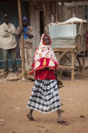 levit: Villagers in Kenya