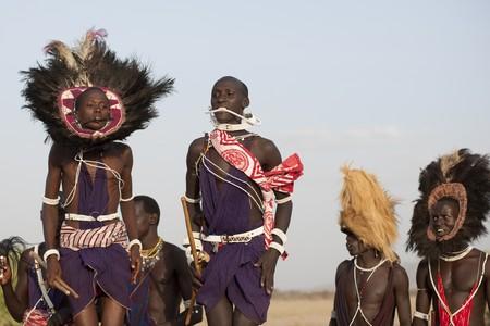 Kenyan tribal dance