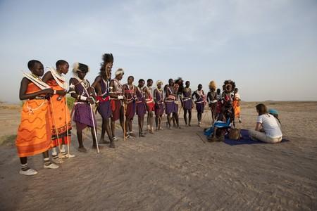 Kenyan tribal performance Editorial