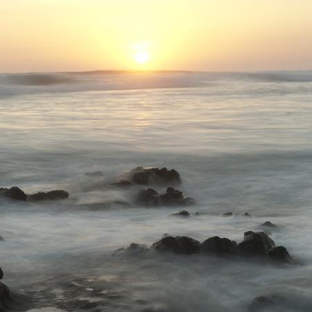 Seascape off the coastline of Costa Rica 版權商用圖片