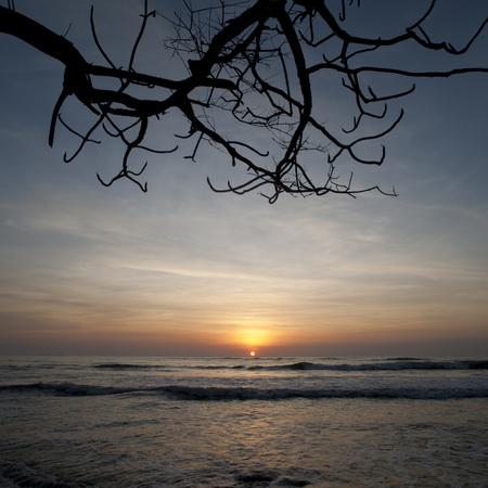 Sunset sky over Costa Rica Stock Photo - 9259961