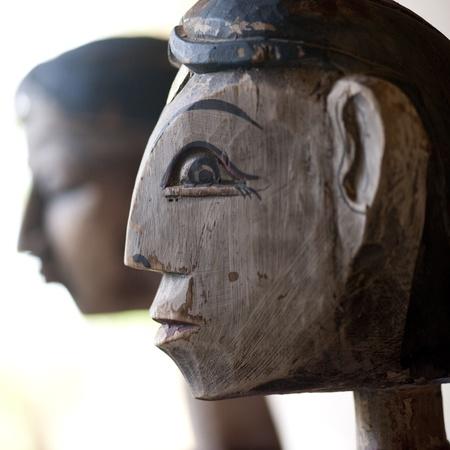 levit: Profile of a sculpture in Costa Rica