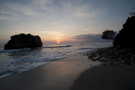 Nicoya Peninsula seascape in San Jose Costa Rica