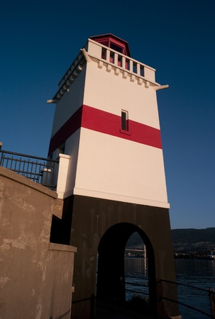 sentry: Brockton Point Lighthouse in Vancouver, British Columbia, Canada