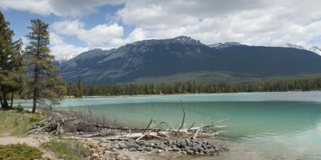edith: Edith Lake, Jasper, Jasper National Park, Alberta, Canada Stock Photo