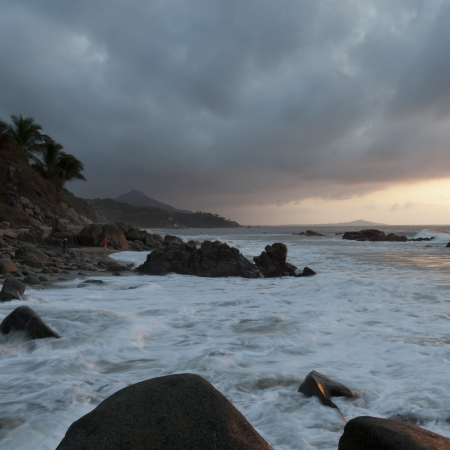Clouds over the sea, Sayulita, Nayarit, Mexico photo