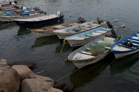 表示, リビエラナヤリット, メキシコ湾に停泊漁船
