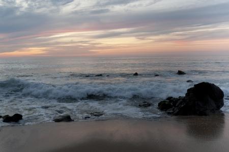 breaking wave: Surf on the beach, Sayulita, Nayarit, Mexico