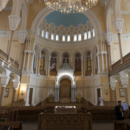chóralne: Wnętrza Wielkiej Synagogi Chóralnej, Sankt Petersburg, Rosja Publikacyjne