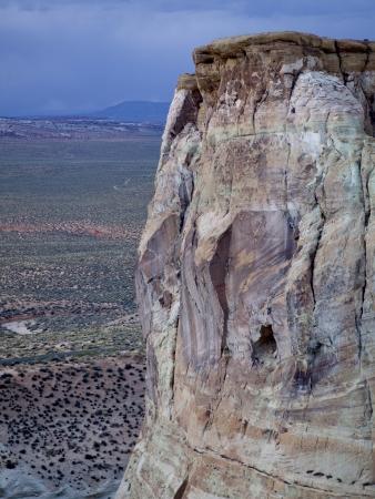 hoodoo: Sandstone cliff, Amangiri, Canyon Point, Hoodoo Trail, Utah, USA