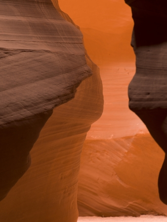 Slot canyon, Tse Bighanilini, Upper Antelope Canyon, Antelope Canyon, Page, Arizona, USA photo