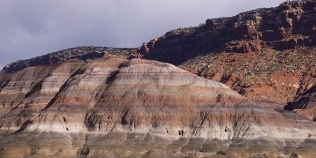 paria canyon: Sandstone cliffs, Paria Canyon, Paria, Kane County, Utah, USA Stock Photo