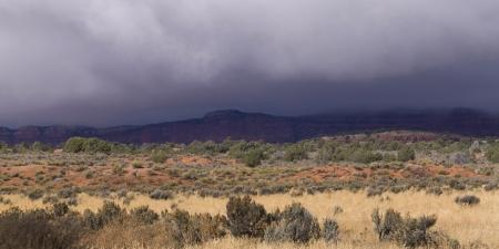 paria: Clouds over a desert, Paria Canyon, Paria, Kane County, Utah, USA
