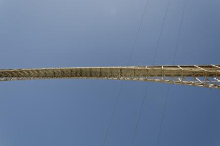 Low angle view of an arch bridge, Glen Canyon National Recreation Area, Arizona-Utah, USA Stock Photo - 14207259