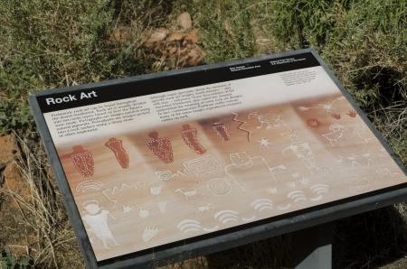 memorial plaque: Memorial plaque on rock, Glen Canyon National Recreation Area, Arizona-Utah, USA