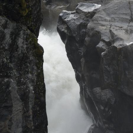 Waterfall, Nairn Falls, Nairn Falls Provincial Park, Whistler, British Columbia, Canada photo