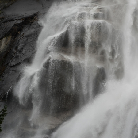 Waterfall, Shannon Falls, Shannon Falls Provincial Park, British Columbia, Canada photo