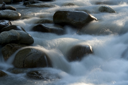 whistler: Rocks in the river, Whistler, British Columbia, Canada