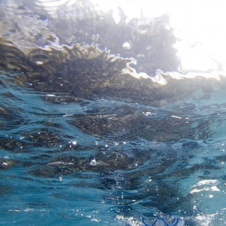 Waves in the Pacific Ocean, Gardner Bay, Espanola Island, Galapagos Islands, Ecuador