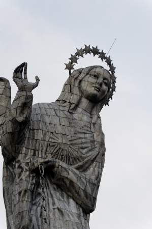 Statue of Virgin Mary of Quito, El Panecillo Hill, Quito, Ecuador