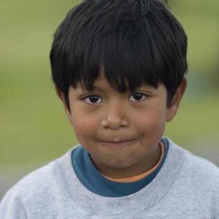 latin child: Portrait of a boy, Quito, Ecuador
