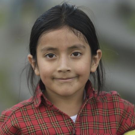 quito: Portrait of a girl, Quito, Ecuador