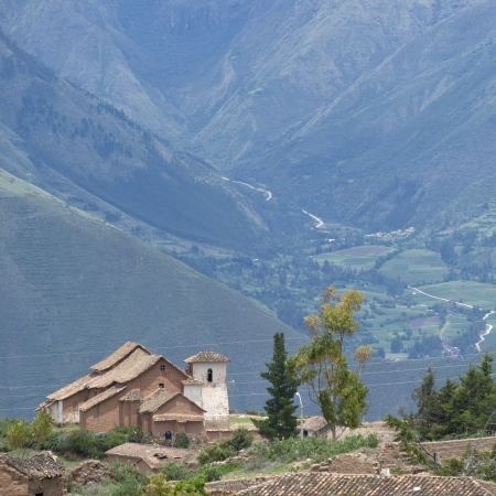 placidness: Houses in Maras village, Sacred Valley, Cusco Region, Peru