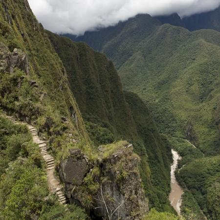 sacred valley of the incas: The Lost City of The Incas, Mt Huayna Picchu, Machu Picchu, Cusco Region, Peru