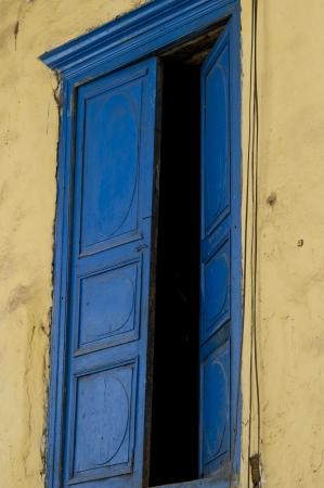 qusqu: Open window of a house, Cuzco, Peru