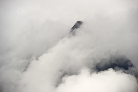placidness: The Lost City of The Incas covered with clouds, Machu Picchu, Cusco Region, Peru
